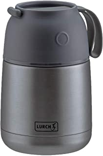 Lurch 240933 Thermal Food Container Double-Walled Stainless Steel with Large Opening 480 ml 450 ml