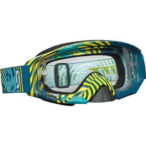 Scott deportes lente gafas de Tirano con obras de AFC transparente (vinilo verde/amarillo, un tamaño) por Scott Sports