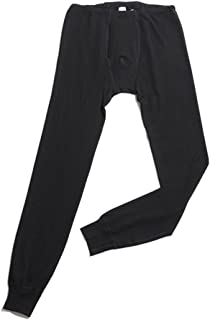 Hocosa Men's Organic Wool-Silk Long-Underwear Pants