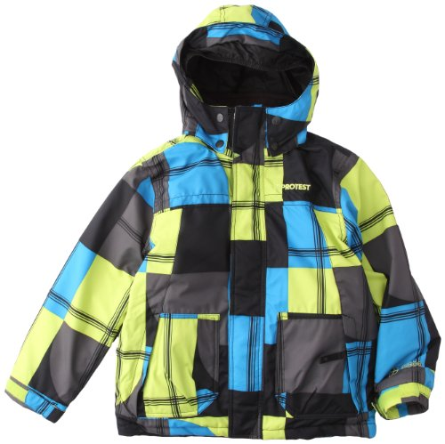 Protest Winterjacke, Skijacke, Boardjacket Catch Lime Punch (gelb) 128
