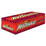 Hot Tamales Fierce Cinnamon Flavored, Chewy Candies, 1.8 Oz Bags (Box of 24)