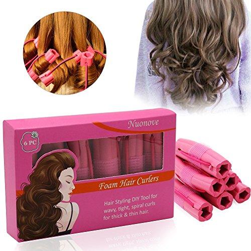 2 Pack Fashion coiffure Donut Hair Bun Maker parfait pour les cheveux longs et épais - Perruque de cheveux - French Twist Bun - Chignon Donut Hair Piece Bob Maker