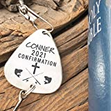 Confirmation Gift Fishing Lure Personalized Boys Confirmation Fishing Lure Gift Idea Confirmation Gift Religious Gift 2021 Gift Catholic CONF-LURE