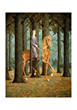Spiffing Prints Rene Magritte The Blank Cheque - Medium -