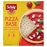 Schar Bases de pizza sin gluten 300 g (paquete de 2)
