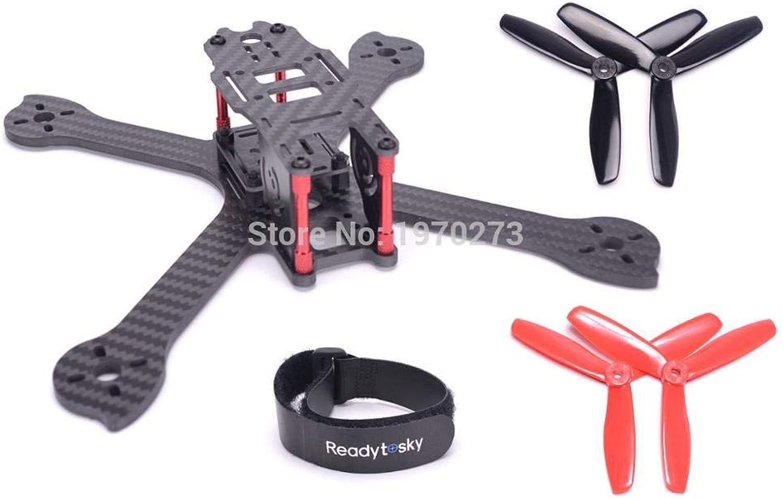 Laliva iX5 210 210mm Carbon Fiber Frame Kit + 5045 3 Blades Propeller for 200 FPV Racing Drone