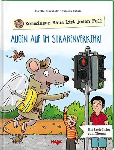 Kommissar Maus löst jeden Fall - Augen auf im Straßenverkehr!: mit Sach-Infos zum Thema
