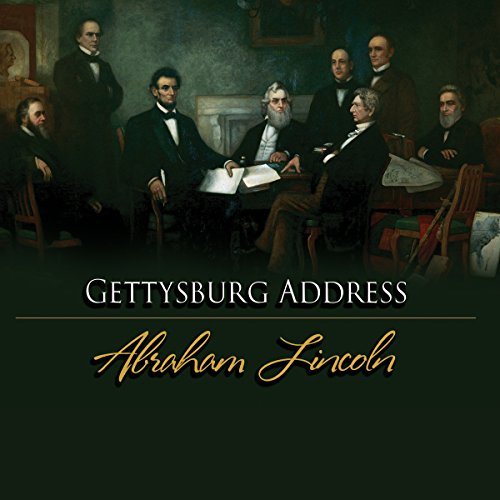 The Gettysburg Address audiobook cover art