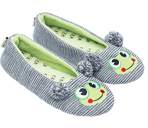 cute frog face slippers
