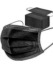MaNMaNing Mascarillas Negro 100 Unidades con Elástico para Los Oídos 20200702-MANING-X101