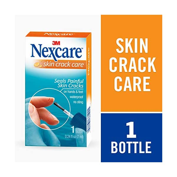 Beauty Shopping Nexcare Skin Crack Care, Liquid Bandage, Great for Use on Fingers, Hands and Feet,