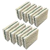 HQRP 8-Pack Wick Filter Compatible with Kenmore 32-14911 Essick Air HDC12 / HDC-12 Replacement, 15414, 15420, 14452, 14453, 14454, 14415, 14417, 15517, 03215420000
