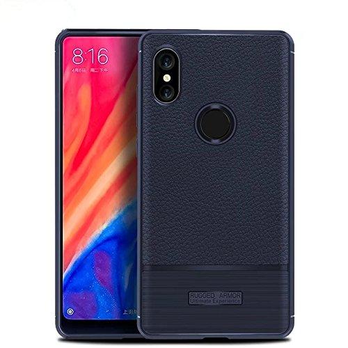 Funda® Fermezza e Flessibilità Smartphone custodia per Xiaomi Mi MIX 2S(Blu Scuro)