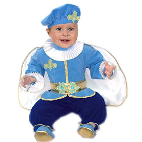 Pegasus Vestito Costume Maschera di Carnevale Neonato - Principe - Taglia 13/18 Mesi - 63 cm
