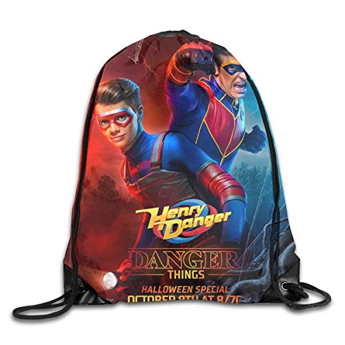 Colegio Bolso Danger TV Show of Henry Backpacks Travel School Bags Shoulder Laptop Bag Computer Bag...