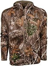 King's Camo Hunter Grid Fleece Full Zip Hoodie, Realtree Edge, 4X-Large