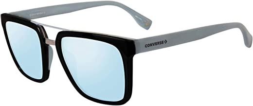 Converse SCO047530Z42 Mirrored Square Sunglasses Blue/Black