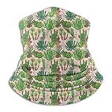 Patrón de Llamas de Acuarela Calentador de Cuello Polaina Bandana Pañuelo para la Cabeza Bufanda Sombreros Pasamontañas