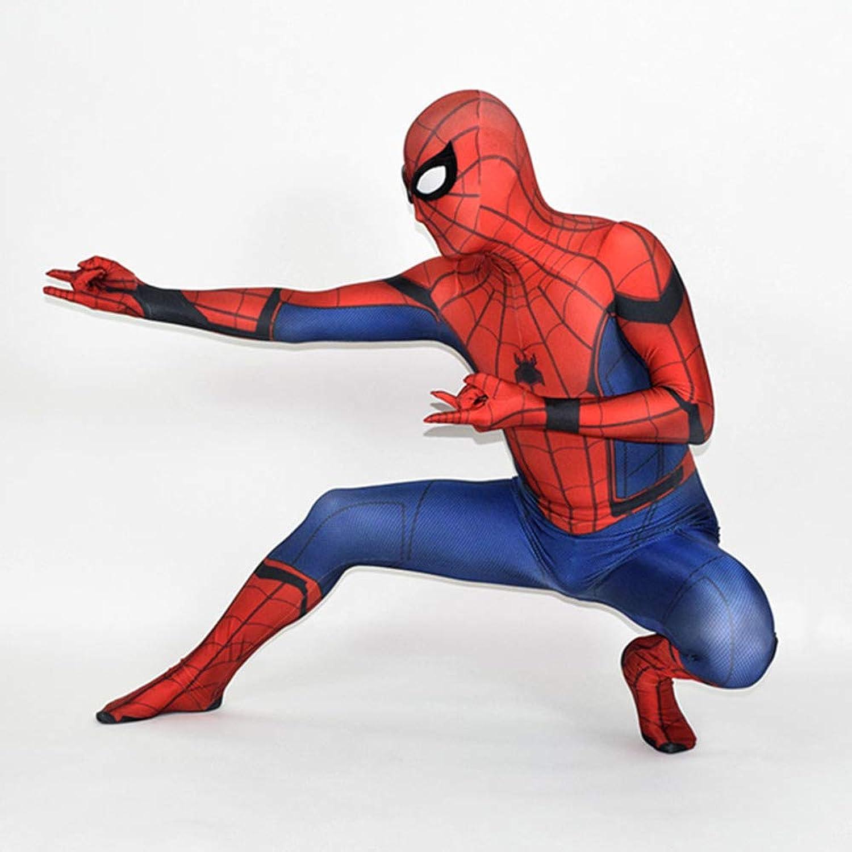 nuevo estilo Spiderman Niño Adulto Adulto Adulto Ropa CosJugar Vestido Halloween Navidad Celebracion súperhéroe Traje Fiesta De Baile Medias,Men-XS  tienda en linea