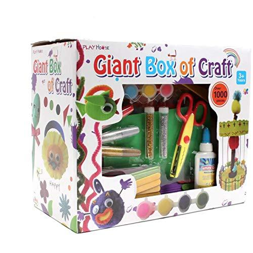 Caja gigante de artesanía 1000 piezas