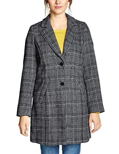 Cecil Damen 100498 Mantel, Black, Small (Herstellergröße:S)