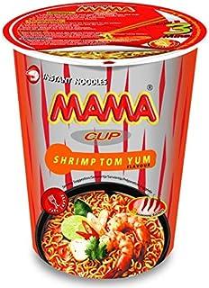 Best MAMA Noodles SHRIMP TOM YUM Instant Cup of Noodles w/ Delicious Thai Flavors, Hot & Spicy Noodles With Shrimp Tom Yum Soup Base, No Trans Fat w/ Fewer Calories Than Deep Fried Noodles 6 Pack Review
