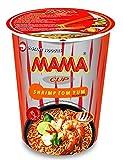 MAMA Noodles SHRIMP TOM YUM Instant Cup of Noodles w/ Delicious Thai...