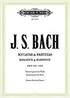 Sonaten & Partiten BWV 1001-1006: (original fuer Violine solo) Transkription fuer Viola Solo