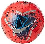 Nike Strike, Pallone da Calcio Unisex Adulto, Laser Crimson/Black/Metallic Silver, 5