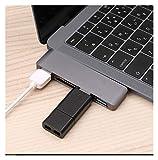 RANGE Descargar la información USB C Hub To 4K HDMI Thunderbolt Adapter 3 Dual USB 3.1 Datos Tipo C Tipo C HUB Estándar TF PD Adaptador En el Caso de la computadora. (Colore : TC 1692)