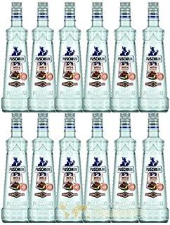 12 Flaschen Puschkin Nuts 6 Nougat 17,5% Vol. a 700ml Orginal