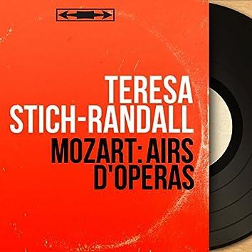 Mozart: Airs d'opéras (Mono Version)