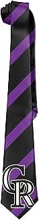 ONESEDA Men's Colorado Rockies Tie Necktie Ties