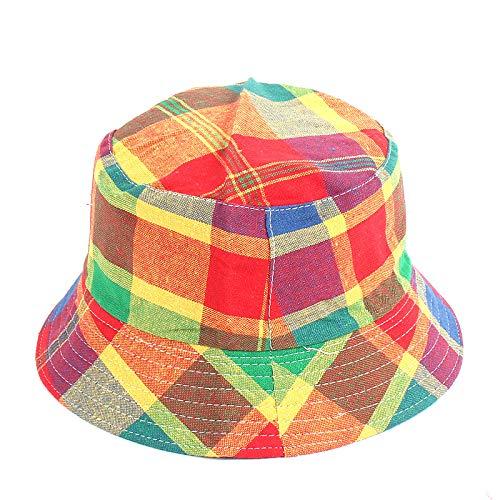 geiqianjiumai Nieuwe jongens en meisjes wastafel pet kinderhoed klassieke rooster visser hoed zonnekap hoed 2-6 jaar oud