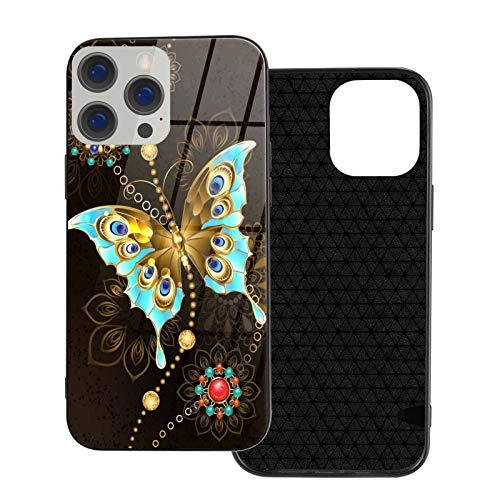 Moda compatible con iPhone 12 Series 2020 hermosa mandala mariposa para iPhone 12 6.1 pulgadas