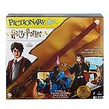 Mattel Games- Pictionary Air Versione Harry Potter con Bacchetta, Gioco per Disegnare in Aria, Gioco per Famiglie e Bambini 8+Anni, HDC63