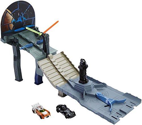 MATTEL FRANCE - A1505388 - Trains, circuit, piste, radio- - SWARS TRACK SET - modèle aléatoire - -