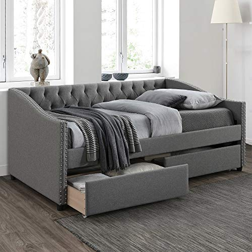 Harper & Bright Designs Upholstered Daybed