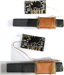 LS WWVB 60kHz NIST Radio Controlled Clock, 30dB High Gain Atomic Clock Receiver IC, 100mm Antenna 1.2 to 5V Operating Voltage for Radio/Radio Alarm Clock/Timer (WWVB Receiver Module)
