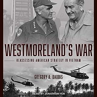 Westmoreland's War audiobook cover art