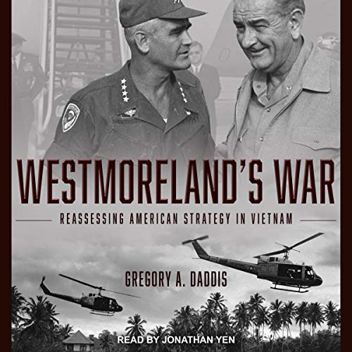 Westmoreland's War audiobook cover art