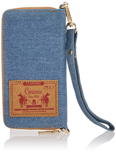 Corinne(コリーヌ) プルームテックケース ミニデニム プルームテックプラス PL177 ライトブルー