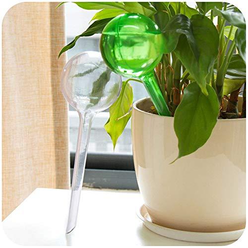 YALW 自動みずやり器 2枚セット みずやり ガーデニング ガーデン 鮮やか 自動給水装置 簡単操作 丸形 自動水やり器 水やり当番 土に挿し 散水 園芸 潅漑 野菜 留守用