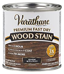 Ideal for use on all interior wood projects: furniture, cabinets, doors, trim and paneling One-coat coverage, fast-drying oil based formula Dries to the touch in just 1 hour and covers up to 70 square feet High performance stain system enhanced with ...