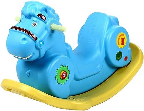 minoristas en línea WHTBB Rocking Horse Animal Adventure, Silla Mecedora Rocking Horse para para para Niños Rocking Horse, Juguete de plástico, Regalo de cumpleaños (Color   B)  bajo precio del 40%