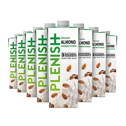 Plenish Organic Almond Milk (8 x 1 Litre)