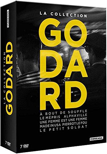 La Collection Godard: À Bout de Souffle + Le Mépris + Alphaville Femme + Made in USA + Pierrot Le Fou + Le Petit Soldat [DVD + Livre]