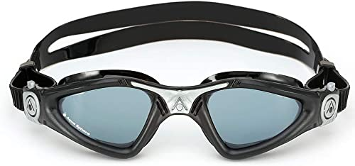 Aqua Sphere Kayenne Swimming Goggle Smoke Lens, Black/Silver