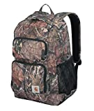 Carhartt Legacy Standard Work Backpack with Padded Laptop Sleeve and Tablet Storage, Mossy Oak, One Size