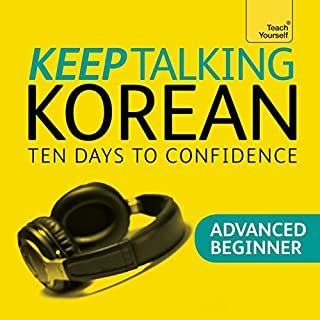 Keep Talking Korean - Ten Days to Confidence cover art